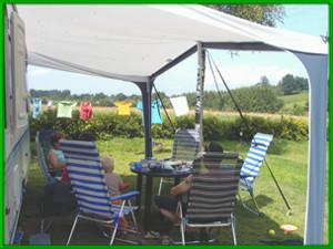 camping Belgische Ardennen aan rivier
